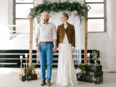Boho sesja ślubna dla Sedina Wedding Fair